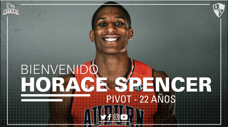 Horace Spencer signs with Atenas Cordoba