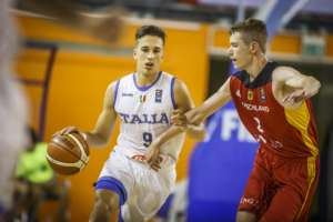 Calendario Italia Basket Europei.Under 16 Sportando