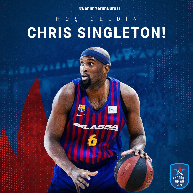 Chris Singleton joins Anadolu Efes Istanbul