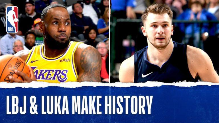 La sfida da record tra LeBron James e Luka Doncic