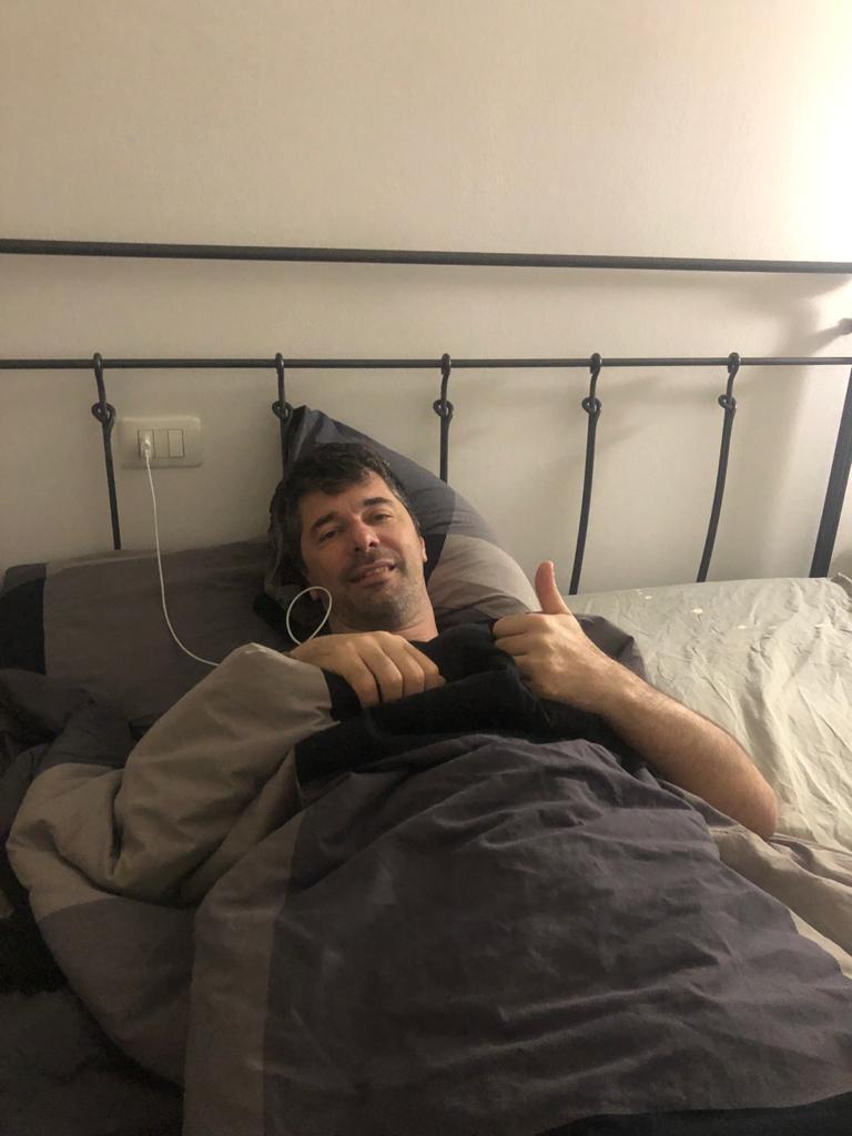 Matteo Malaventura torna a casa