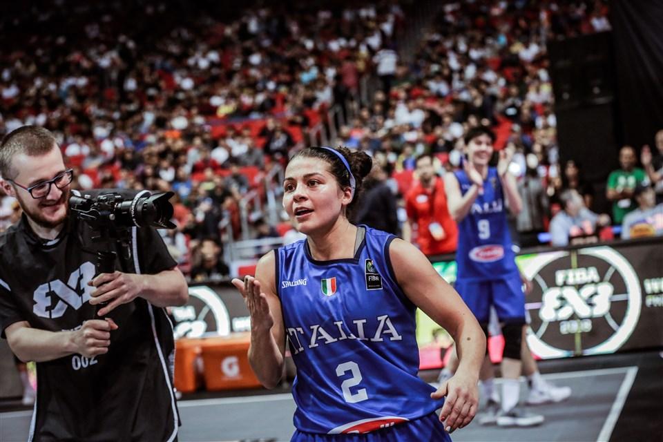 FIBA – Rae Lin D'Alie compone la canzone ufficiale del 3X3 2020