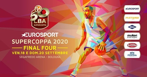 Eurosport Supercoppa 2020 | Le semifinali saranno Milano-Venezia e Sassari-Virtus
