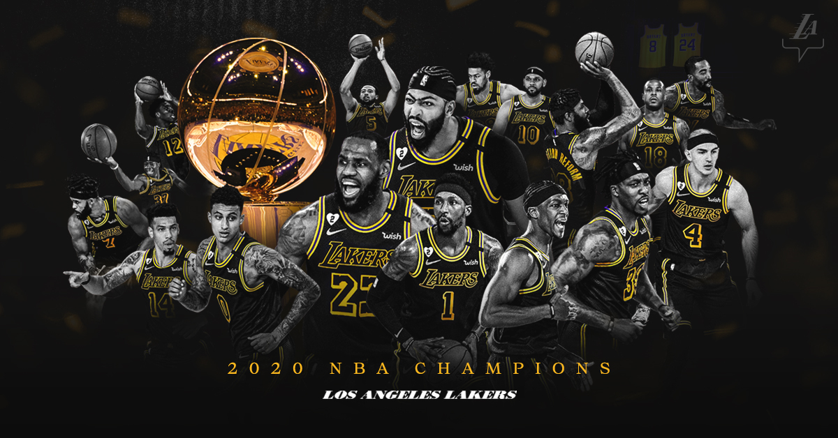 Lakers crowned NBA Champions 2020