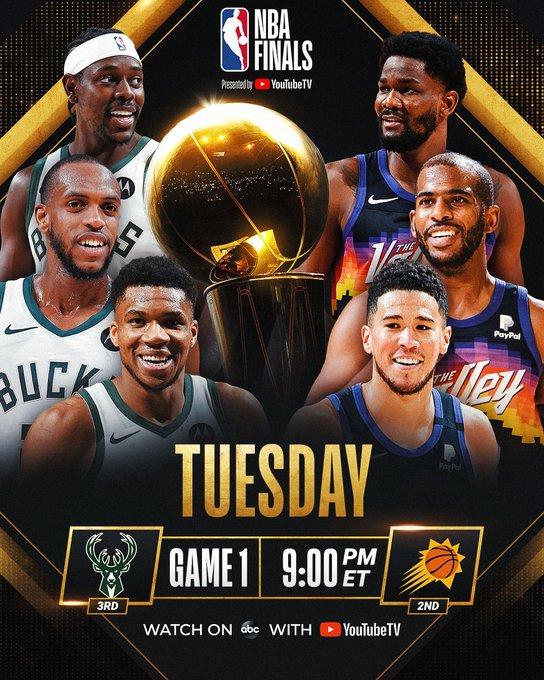 NBA Finals: Bucks o Suns, chi avrà l'anello al dito?