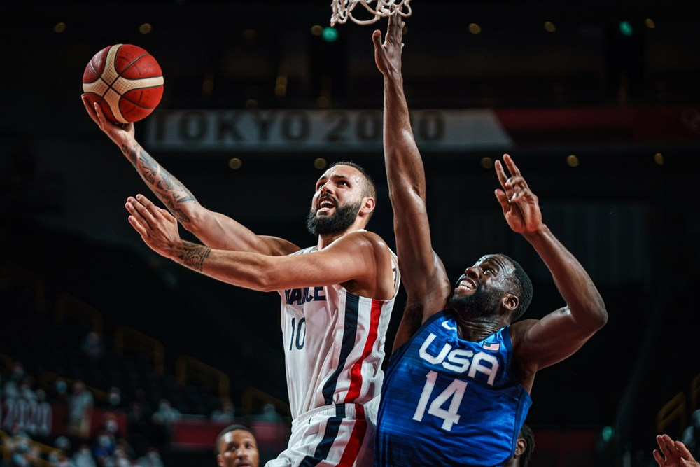 Tokyo 2020: Evan Fournier on fire, France beats Team USA 83-76